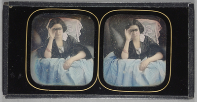 A beautiful and unusual stereo view.