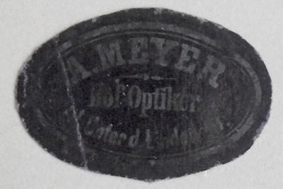 Etikett von A. Meyer