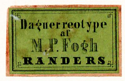 Etikett von M. P. Fogh