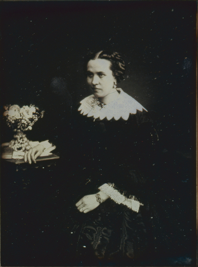 K. Hofopernsängerin Schönhoff. 1855.