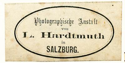 Hardtmuth war ab ca. 1866 in Salzburg, zuvor hatte er ein paar Jahre ein Atelier in Wien.
