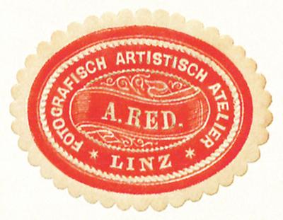 Etikett von A. Red.