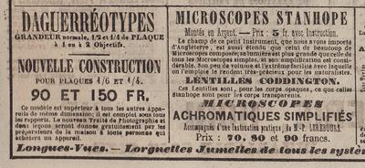 Journal des Débats - Daguerretypes