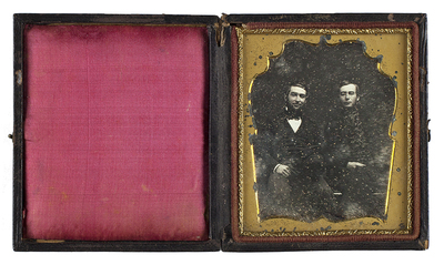 Attributed: Portrait of two men
