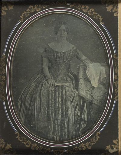 Attributed: Portrait of woman