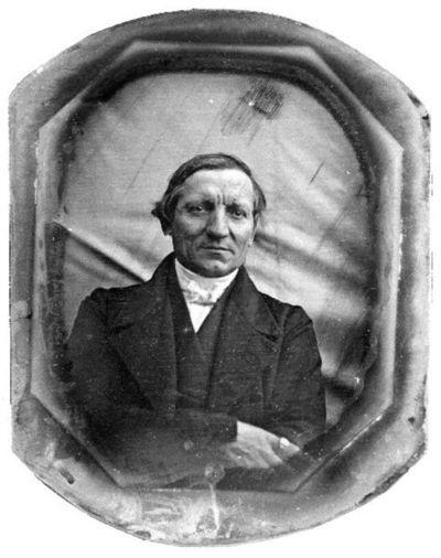 Portrait of a man - Albin Heinrich