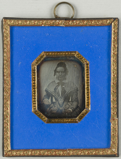 Miniature portrait of a woman