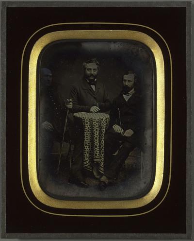 Portrait de messieurs Lullin, Pourtales et de Meuron