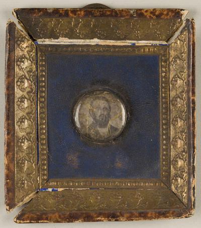 Miniature portrait of a man