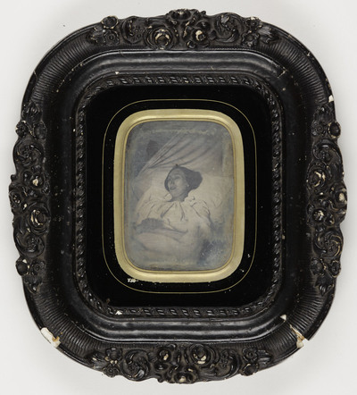 postmortem portrait of a woman