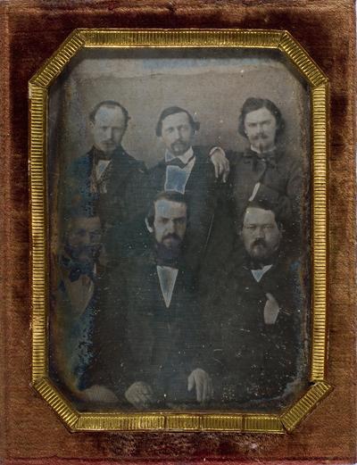 Portrait of six men