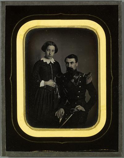 Portrait d'Aloïs Diodati et de sa femme Hilda
