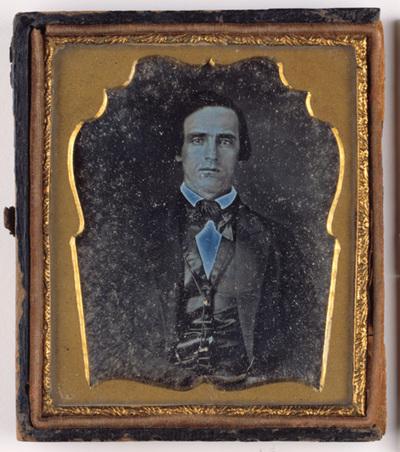 Portrait of a man. Miehen muotokuva.