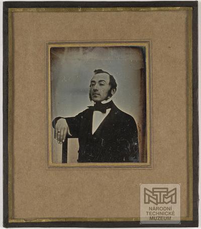 Portrait of unknown man. Creator unknown, undated