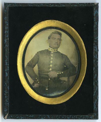Portrait of man with uniform