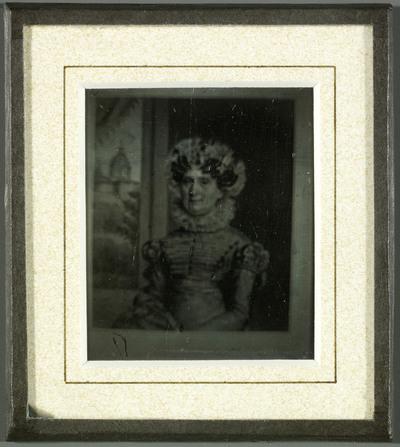 Madame Lullin Pictet, reproduction d'un dessin ou d'une peinture
