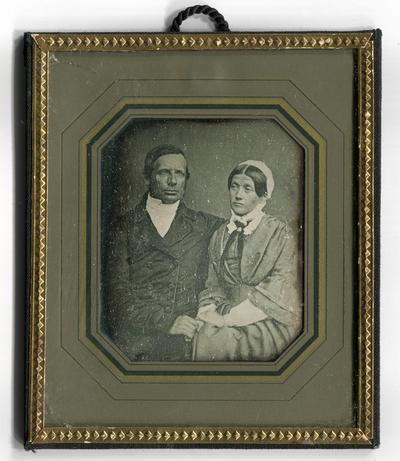 [Porträt eines Ehepaares]