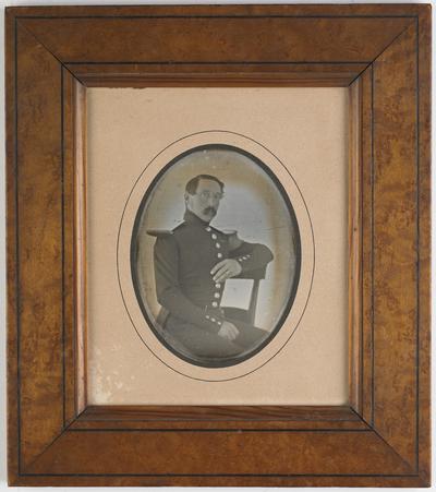 Portrait of a French Sous Lieutenant de Cavalerie