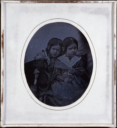 Doppelbild (2 Kinder)