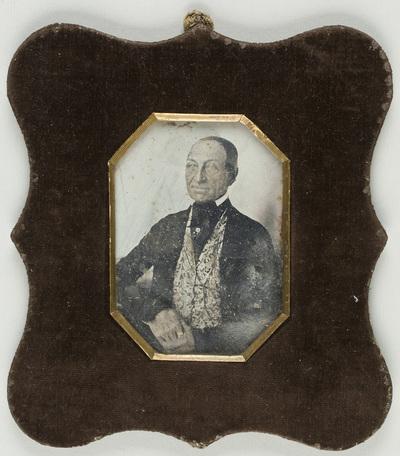 Portrait of a man - Jan Hostivít Poslíšil