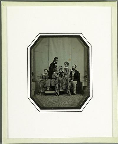 Monsieur et Madame Charles Eynard et leurs enfants