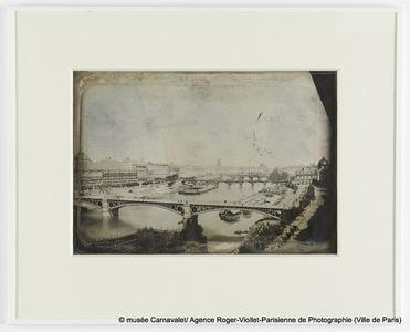 Le Louvre et les Berges de la Seine, vue prise du Pont-Neuf, 1er arrondissement, Paris