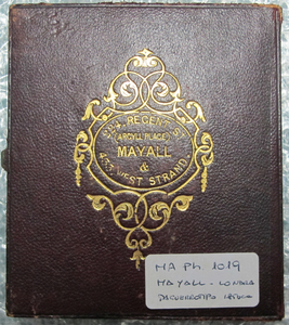 John Jabez Edwin Paisley Mayall (1813 in Oldham, Lancashire – 1901).