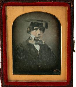 Portrait of young graduate