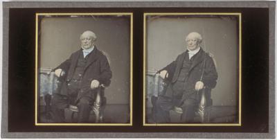 Portrait of Jozefina Nelsen's father