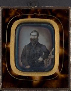 Portrait of beared man