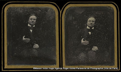 Portrait de Victor Hugo en buste