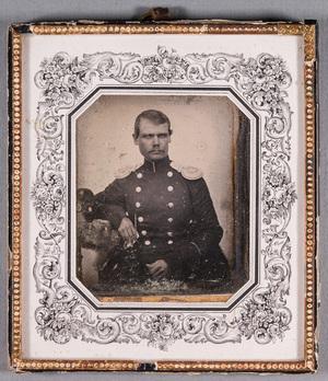 Portrait of Major Johan Rudolf Maexmontan (1822-)