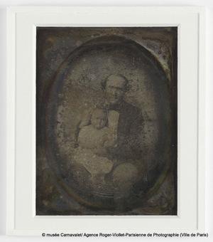 Portrait de Jules Columbia et de sa fille Marie Columbia (morte en 1844)