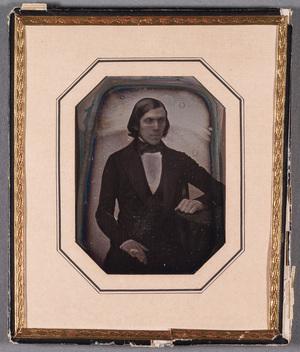 Portrait of Magister August Rosenmark (St.Karins 1.7.1827-Åbo 31.3.1851).