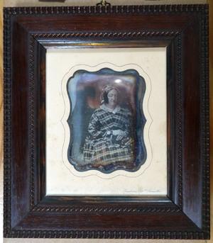 Portrait of an elderly woman, the wife of (WL_Dag_025) Edouard van de Poele