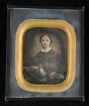 Original glass replaced. The daguerreotypist might be Marcus Selmer. [Photographed by Marcus Selmer?]