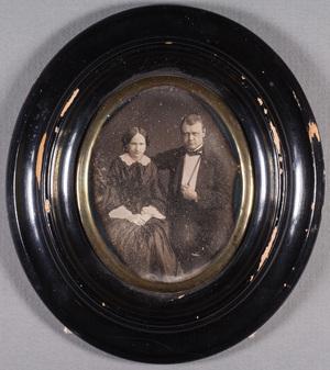 Portrait of Consul John Julin (19.2.1827-24.4.1898) and his wife Emelie b. Skogsberg (19.12.1824-2.5.1870).