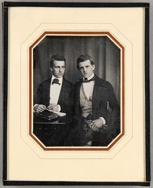 Jacob Behrens (30.6.1824-6.3.1898) und Heinrich Behrens (22.9.1828-20.1.1913), Söhne des Senators Jacob Behrens