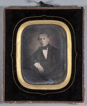 Portrait of unknown man.