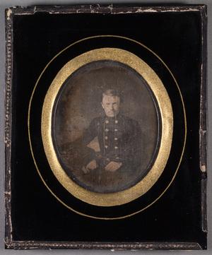Portrait of Karl Emil Edvard Eichwald in uniform.
