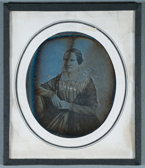 Portrait of a woman, perhaps a member of the Levón family.