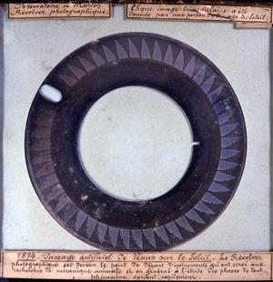 Passage artificiel de Vénus sur le Soleil