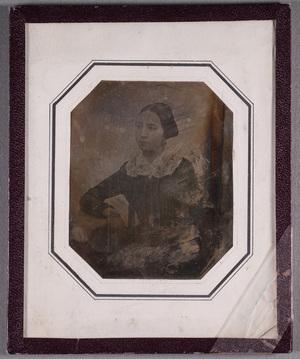Portrait of Countess Olga Lovisa Axelina Armfelt (2.4.1828-13.12.1855), wife of August Magnus Gustav Armfelt.