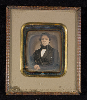 Portrait of a man.