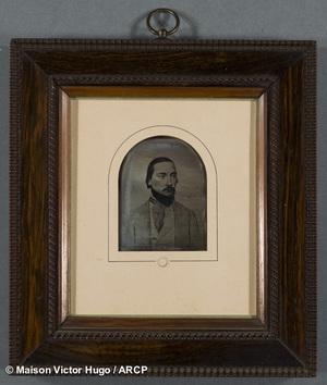 Portrait de Charles Vacquerie d'après le dessin de Mme Adèle Hugo en 1843