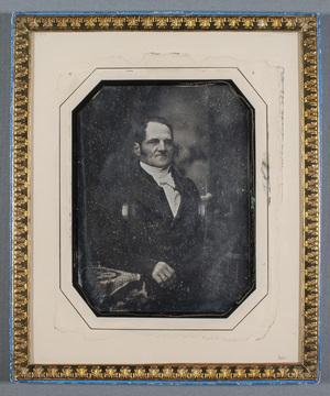 Portait Consul Gustaf Otto Wasenius (Tavastehus 4.6.1789-Helsingfors 19.4.1852).