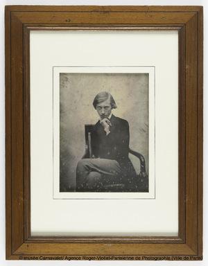 Portrait du daguerréotypiste Stanislas Ratel (Paris 1824-Saint-Hilaire-le-Châtel, Orne, 1904)