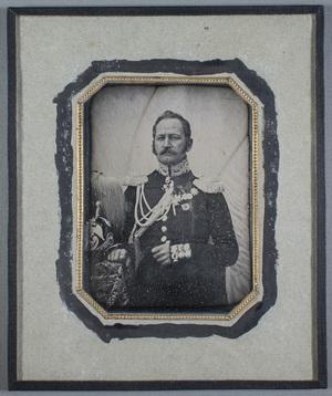 Portrait of general lieutnant Otto Blom (7.5.1798-3.4.1874).