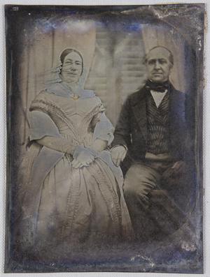 Georg Karl Schuchardt (1798-1873), seine Frau Johanna Caroline geborene Favre (1798-1863