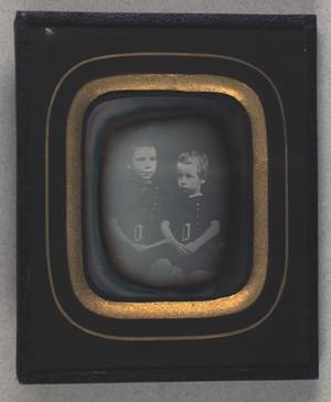 Dobbeltportræt af Jakob og R. Paulli